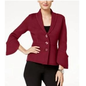 Alfani Medium Red Blazer Jacket